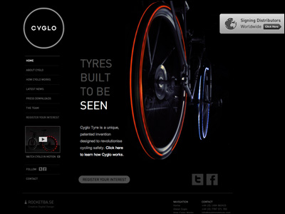 Night Bright Tyre - CYGLO