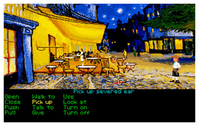 The Secret of Monkey Island (1990) - and Vincent Van Gogh's Cafe Terrace On The Place Du Forum 1888