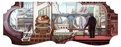 Google ホルヘ・ルイス・ボルヘス 生誕112周年