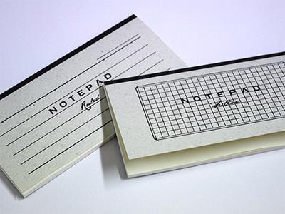 NOTEPAD 活版印刷一筆箋