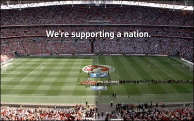 Brand new Vauxhall TV ad - Football