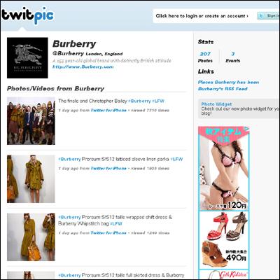 Burberry Prorsum Womenswear S/S12 Full Show