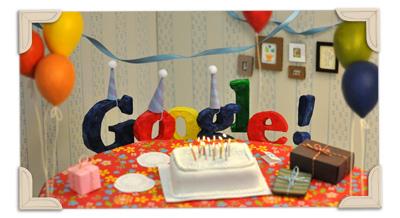 Google 13周年