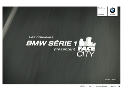 BMW Série 1 - Face City