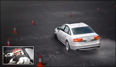 An Interactive A6 Driving Video