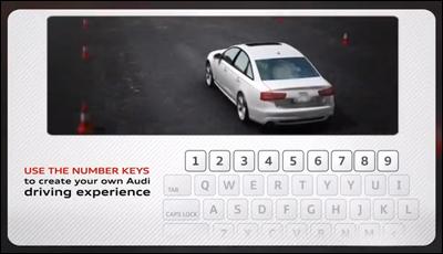 An Interactive A6 Driving Video