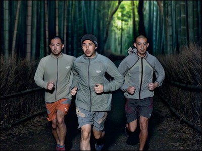 Nike × UNDERCOVER【GYAKUSOU】Fall/Holiday 2011パフォーマンスランニングコレクション