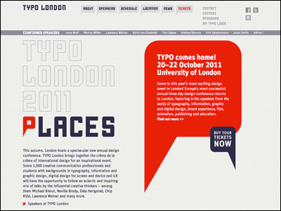 TYPO LONDON 2011