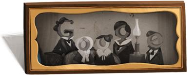 Google ルイ・ダゲール 生誕224周年