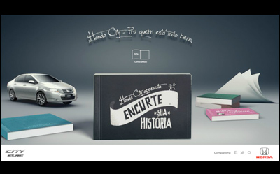 Honda City 2012「Flip Book」
