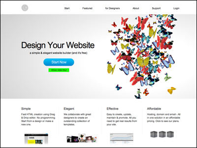 IM CREATOR - Design your website