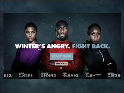 Winter's Angry. Fight Back