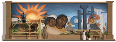 Google ディエゴ リベラ生誕125周年