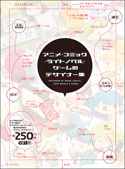 アニメ・コミック・ライトノベル・ゲームのデザイナー