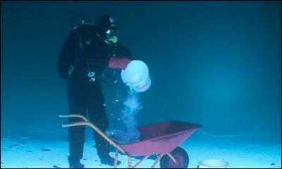 Fishing under ice