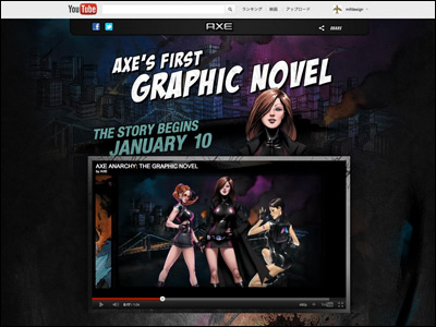 AXE ANARCHY: THE GRAPHIC NOVEL