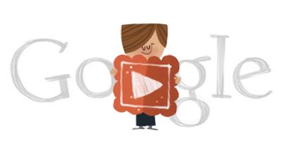 Google バレンタインデーロゴはかわいいアニメーション!