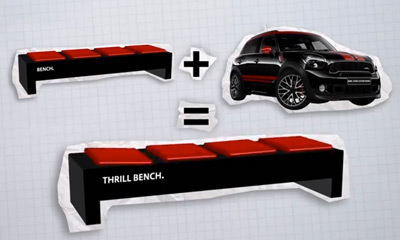 THRILL BENCH