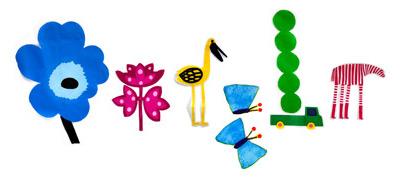 Google 春分の日ロゴ