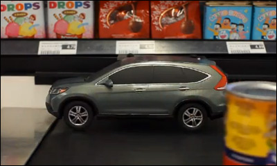Honda CR-V: Conveyor