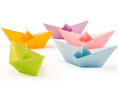 Plávajúce sviečky - Sail