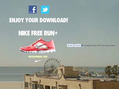 Nike Free -- I Would Run To You
