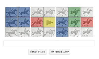 Google エドワード・マイブリッジ(Eadweard J. Muybridge)生誕182周年