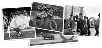 Google ロベール・ドアノー(Robert Doisneau)生誕100周年