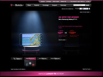 T-Mobile vs. Verizon, ATT, Sprint