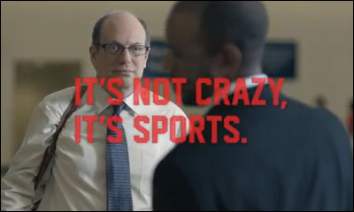 ESPN Michael Jordan Commercial -- It's Not Crazy, It's Sports