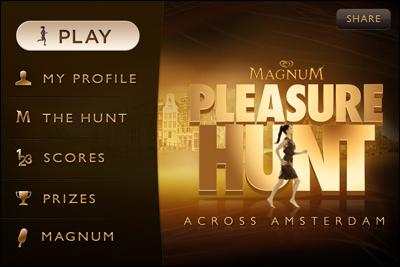 Magnum Pleasure Hunt across Amsterdam