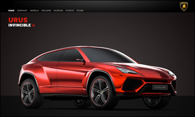 A new born Lamborghini: the channelling of the Four Elements