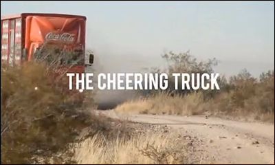 Coca-Cola The Cheering Truck