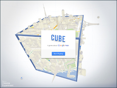 CUBE - A game about Google Maps