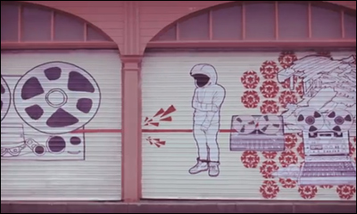 Red Stripe Make Art On The Street Animated Installation with Spaceboy