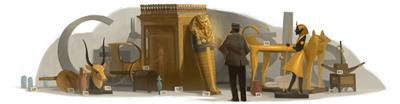 Google ハワード・カーター生誕138周年