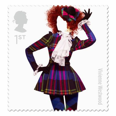 Great British Fashion Stamp Set