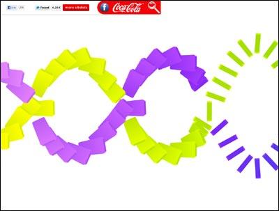 Happiness Islands | Coca-Cola Happy Sitelets