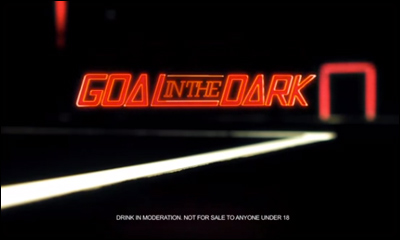 Goal in the dark - Budweiser Argentina