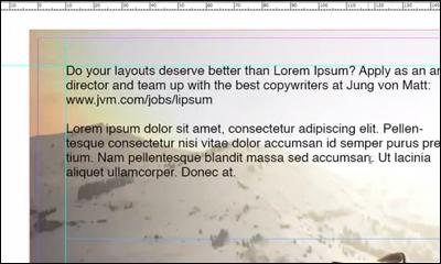 Lorem Ipsum Recruitment by Jung von Matt