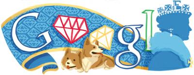 Google The Queen's Diamond Jubilee(エリザベス女王即位60年 ダイヤモンド・ジュビリー)