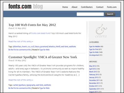 fonts.com blog