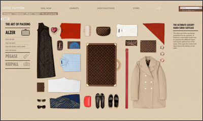 The Art of packing - LOUIS VUITTON