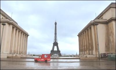 Happiness Truck UEFA Euro 2012 Coca-Cola avec l'Equipe de France de Football