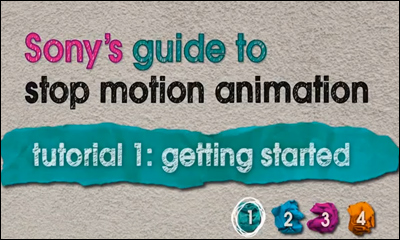 Sony's guide to stop motion animation
