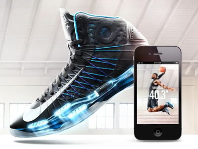 Nike Hyperdunk+ Basketball Shoes and App