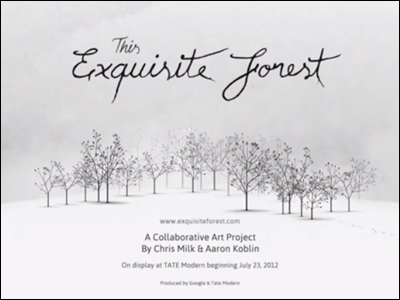 This Exquisite Forest - Google Chrome Experiments