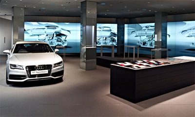 A New Dimension of Audi Brand Experience