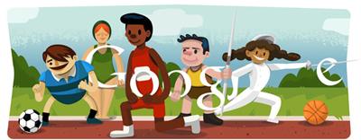 Google ロンドンオリンピック2012