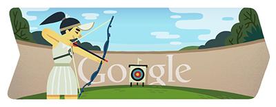 Google アーチェリー(ロンドンオリンピック2012)